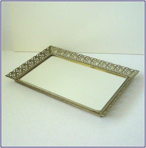 Corking Antique Mirror Tray