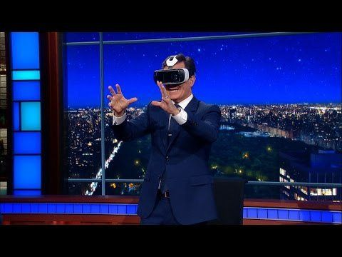 #VR #VRGames #Drone #Gaming Stephen Tries Out CNN's Virtual Reality Debate bit, CBS, celebrities, celebrity guests, celebrity interviews, comedian, Dave Letterman, david letterman, david letterman show, Impressions, late night, late night show, late night talk show, Late Show, monologue, Sketches, skits, Stephen Colbert, Talk Show, The Colbert Report, The Ellen Show, The Late Late Show, The Late Show, The Tonight Show, tonight show, vr videos #Bit #CBS #Celebrities #Celebri