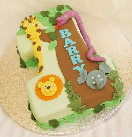 Number One Cake Decoration Ideas : 7 best images about Number Cakes on Pinterest Thomas the ...