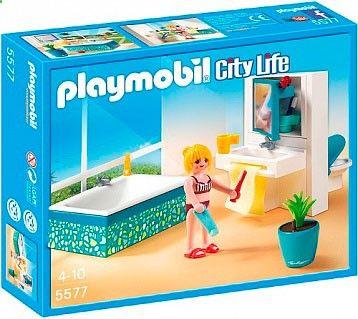 Playmobil 5577 City Life современная ванная комната