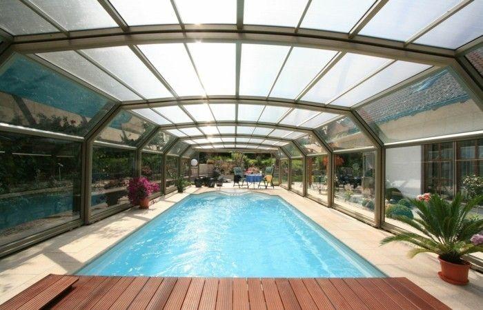 schwimmbadüberdachung eine der kompaktesten schwimmbadüberdachungen von paradiso