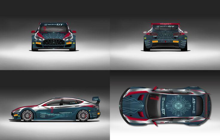 Diseño Tesla Electric GT Championship -1