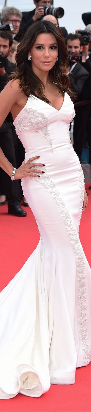 Eva Longoria in Gabriela Cadena at the  Cannes Film Festival 2014