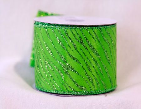 Apple Green Colored Animal Print #Ribbon 1-1/2 Inch x 10 Yards   http://ribbons.cheap/product/apple-green-animal-print-ribbon-1-12-inch-x-10-yards/