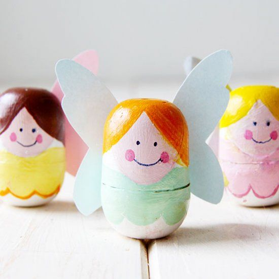 DIY Recycle Tooth fairy box from kinder surprise egg // Cajita de hadas para los dientes con huevos Kinder