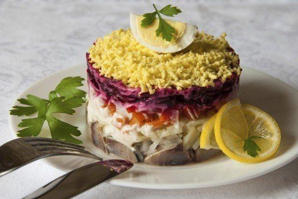 Салаты без майонеза: 5 рецептов легких соусов   Про рецептики - лучшие кулинарные рецепты для Вас!