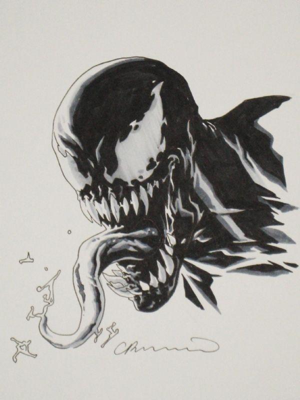 Venom by Lee Bermejo Comic Art   VENOM
