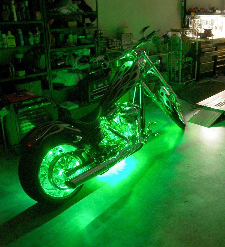 Green Led Motorcycle Accent Lighting Kit Green Led Motorcycle Lights Accent Lighting