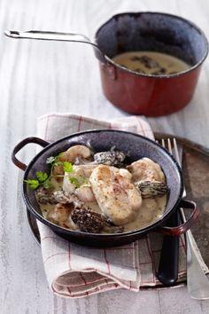 Ris de veau préparation et recette – ris de veau aux morilles