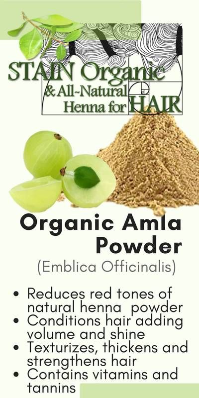 STAIN Henna & Beauty | Organic Amla for Hair | Strengthens, Conditions, & Cuts Red Tones of Henna | Detox Your Hair with STAIN ORGANIC |  #henna #amla #hair #haircolor #hairstyle #beauty #fashion #fashionblogger #beautyblogger #organicbeauty #organic #naturalhair #naturalbeauty