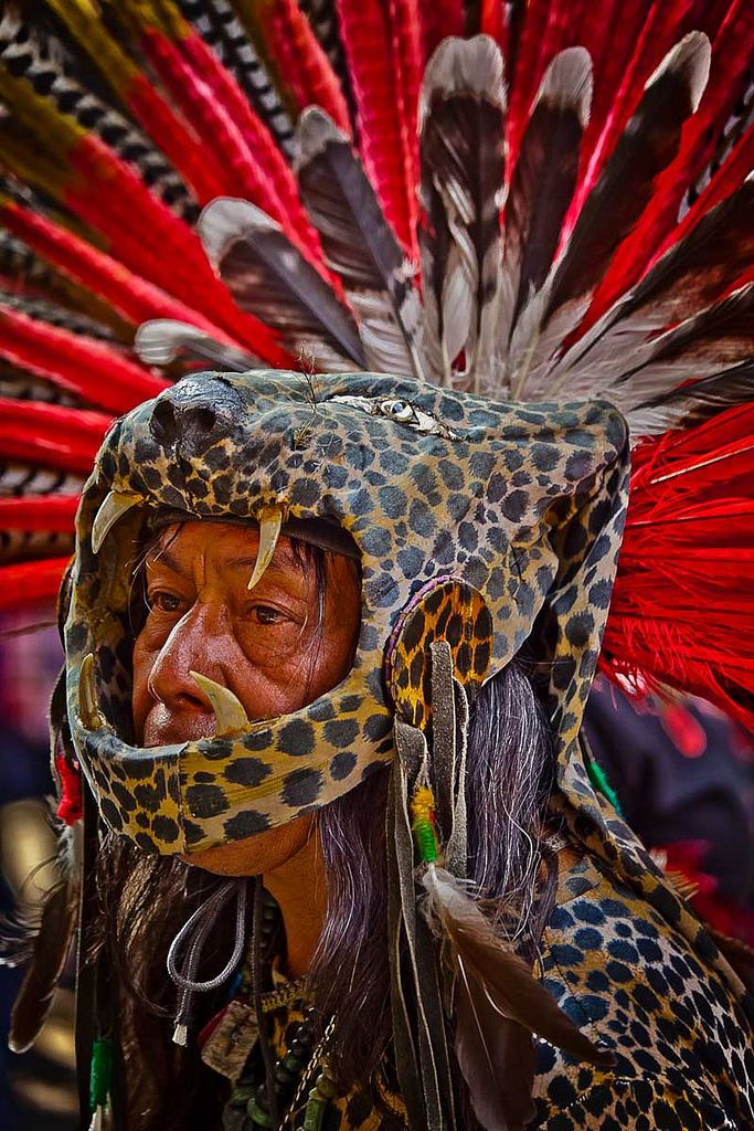 Jaguar Warrior - Mexica, Aztec
