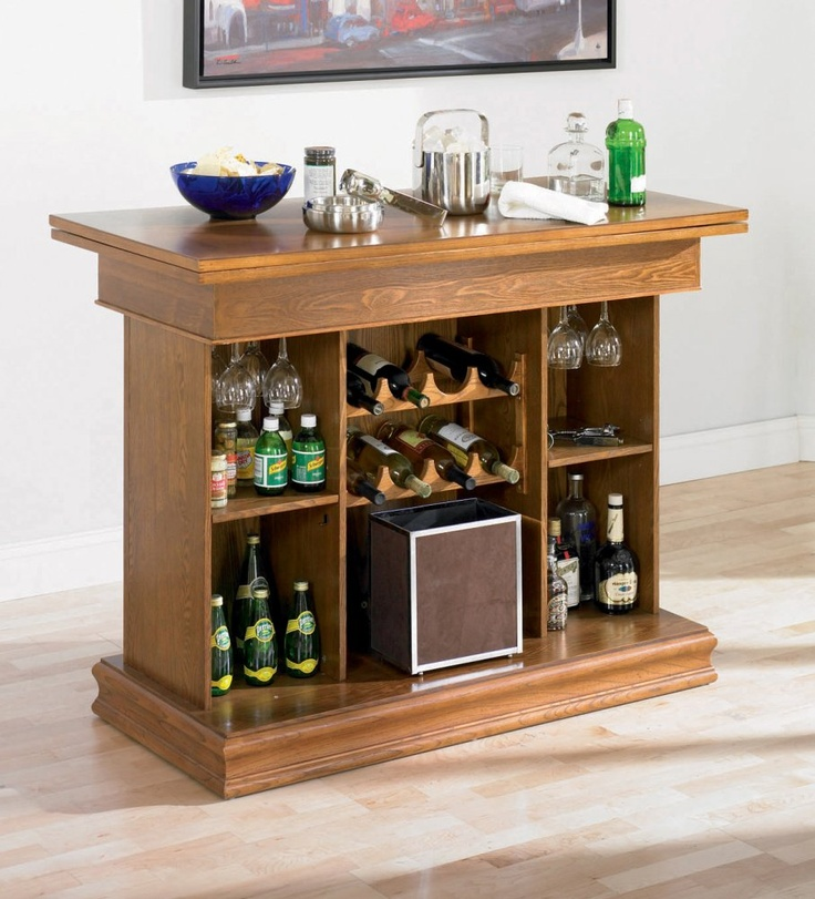 Small bar mini bar at home pinterest Pictures of mini bars for homes