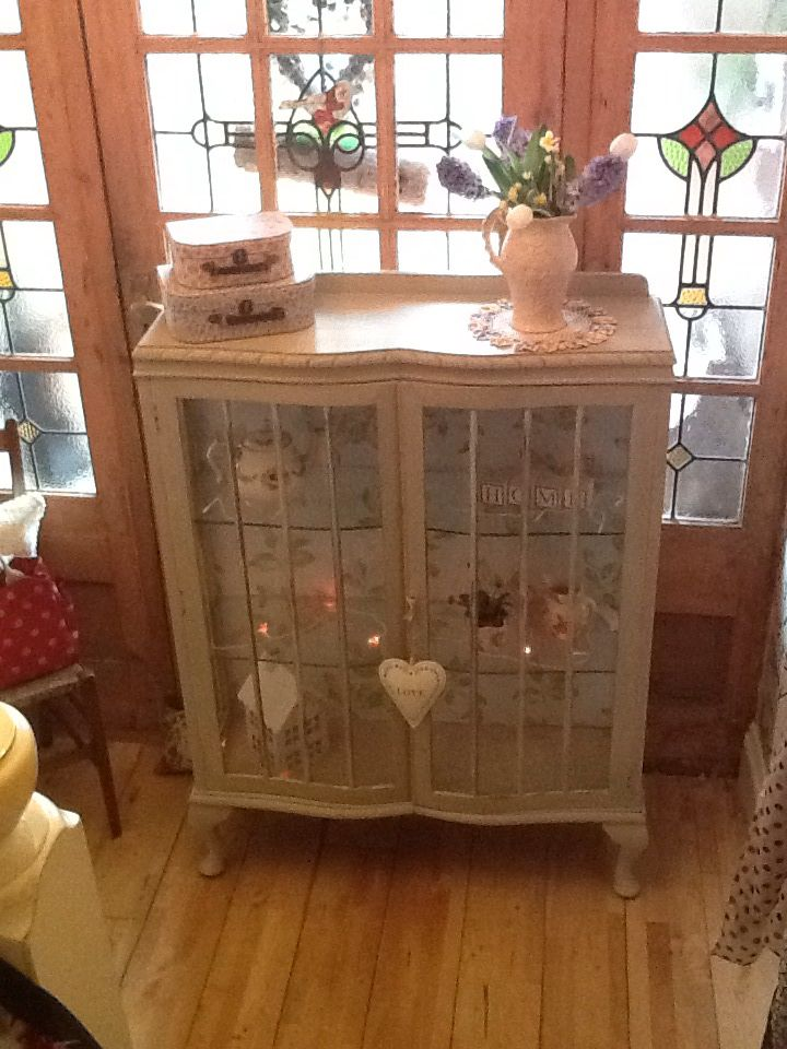Upcycled china cabinet | Upcycling | Pinterest | Cabinets ...