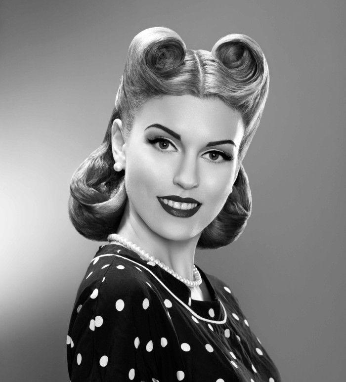 26+ Rockabilly femme coiffure le dernier