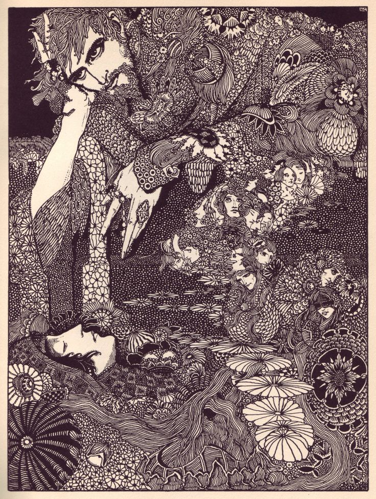 Harry Clarke's haunting 1919 Illustrations for Edgar Allan Poe's Tales of Mystery and Imagination . . . incredible attention to detail