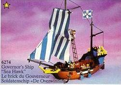 en deze! zelf ooit gespaard... daarna bewaard! nu voor the #nextgeneration! #lego Piraten 1989