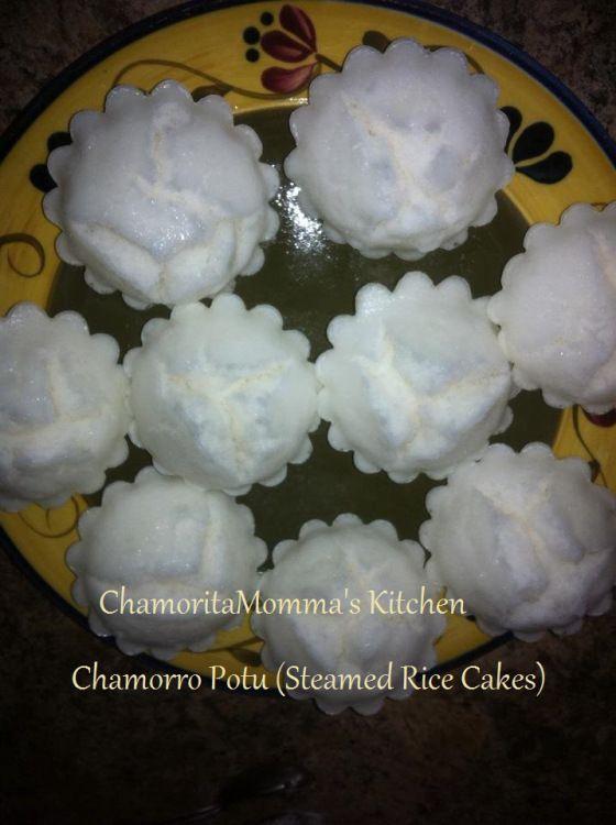 CHAMORRO POTU or Sweet Rice Cake