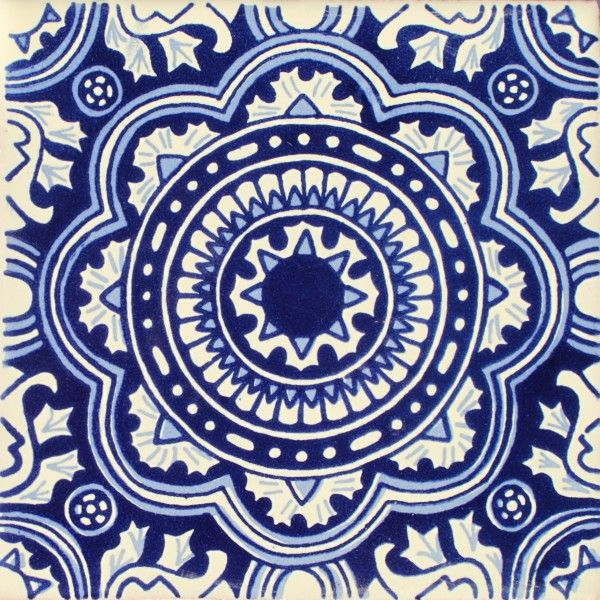 Mexican Talavera Tile – HAD007