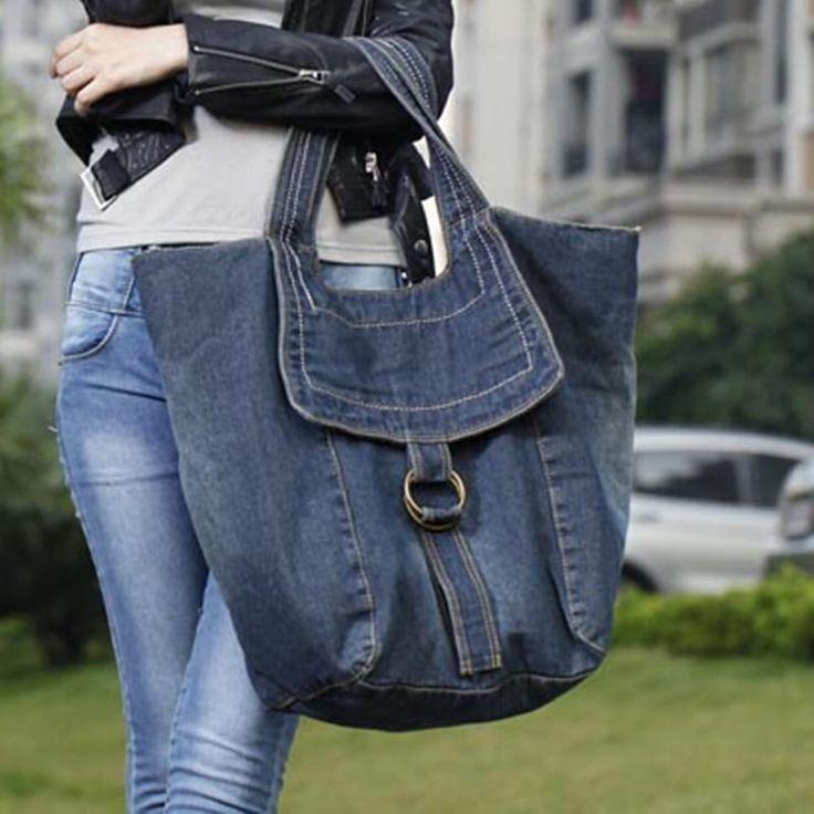 patrones de bolsos vaqueros muy originales, maravillosos y sorprendentes bolsos con un material muy hermoso y resistente con modelos increibles