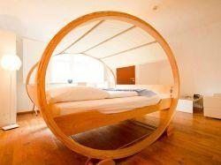 Dormir dans des lits qui ne ressemblent pas à des lits !