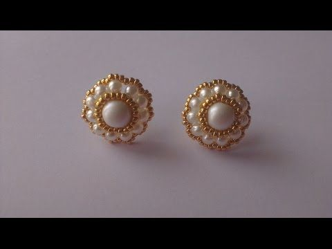 EARRINGS AND RING SET BY BRIDE - YouTube