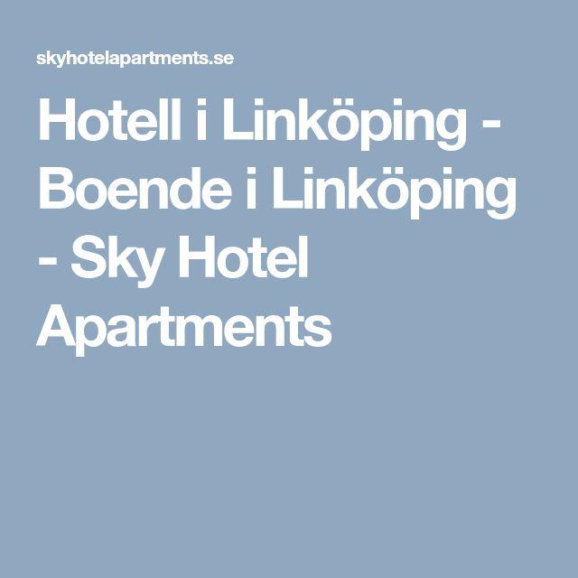 Hotell i Linköping - Boende i Linköping - Sky Hotel Apartments