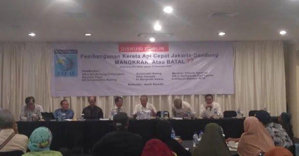 Ka Cepat Jakarta Bandung Mangkrak