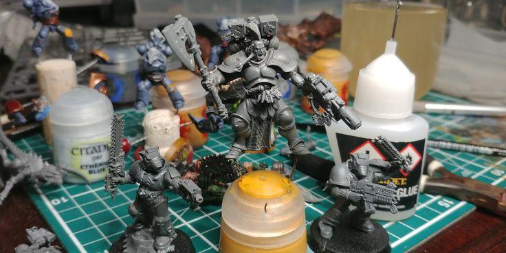 Rune priest space wolves 40k Warhammer