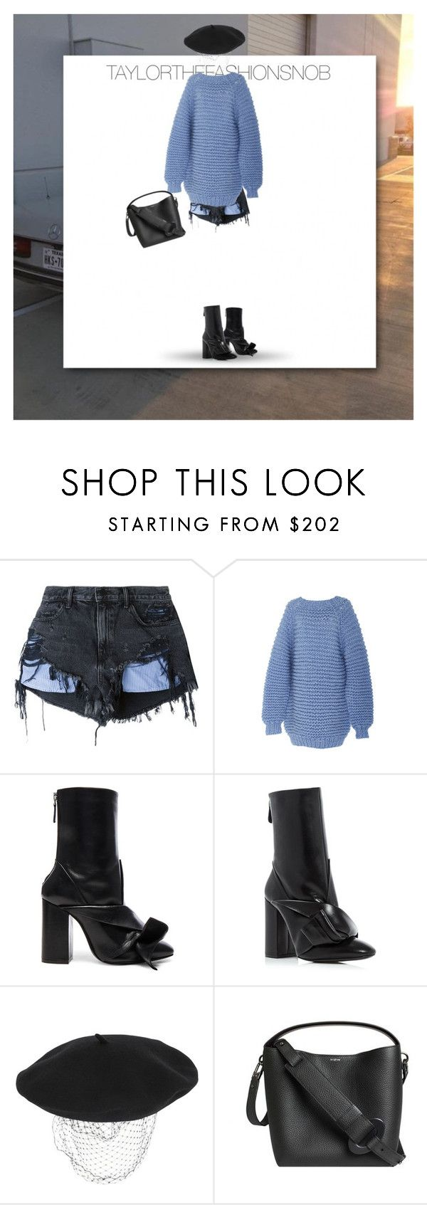"""Untitled #649"" by taylorthefashionsnob ❤ liked on Polyvore featuring Alexander Wang, I Love Mr. Mittens, N°21, Silver Spoon Attire and Perrin"
