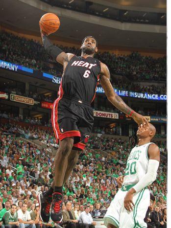 LeBron James Defends Heats NBA Championship Loss at Press Conference