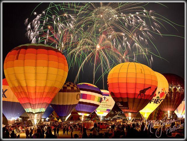 Albuquerque Balloon Fiesta Balloon Glow
