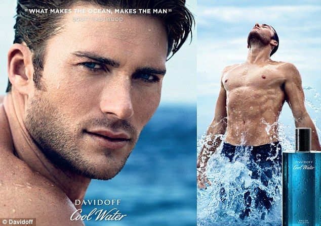 Clint Eastwood's son Scott, 29, has been unveiled as Davidoff Cool Water's new spokesman and showcases his buff body in the new campaign shots
