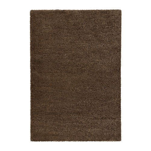 High Quality Stain Resistant High Pile Rug, (Light brown) - 200x300 cm
