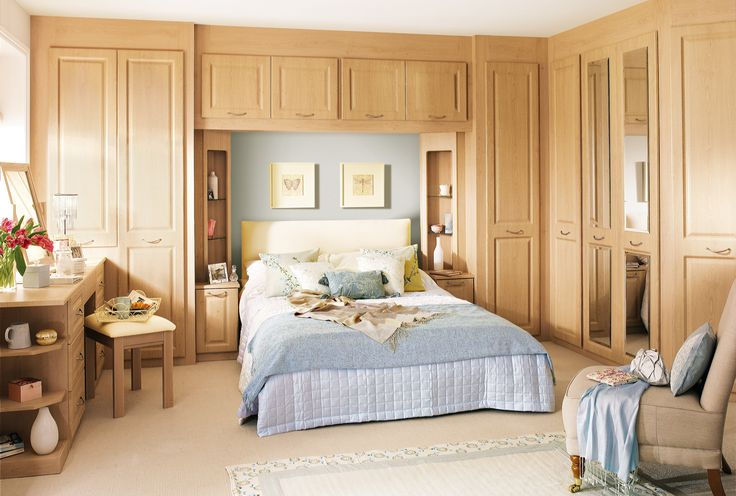 Modern-Wickes-Fitted-Bedroom-Furniture-With-Fitted-Wardrobes-Around-Bed-For-Cozy-Bedroom-Design