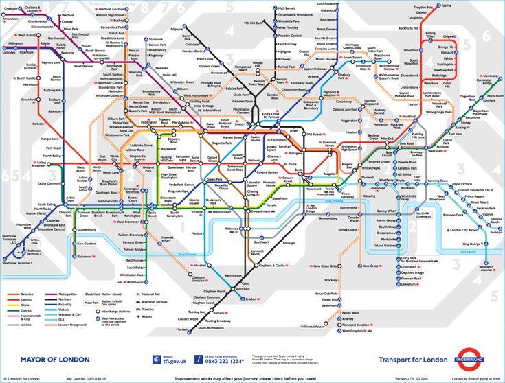 London Underground Tube Map + Tips