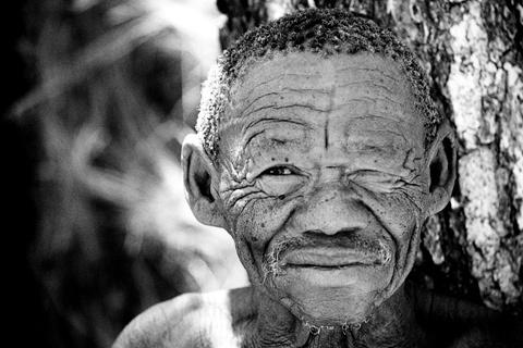 Bilder Bushmen Namibia Afrika