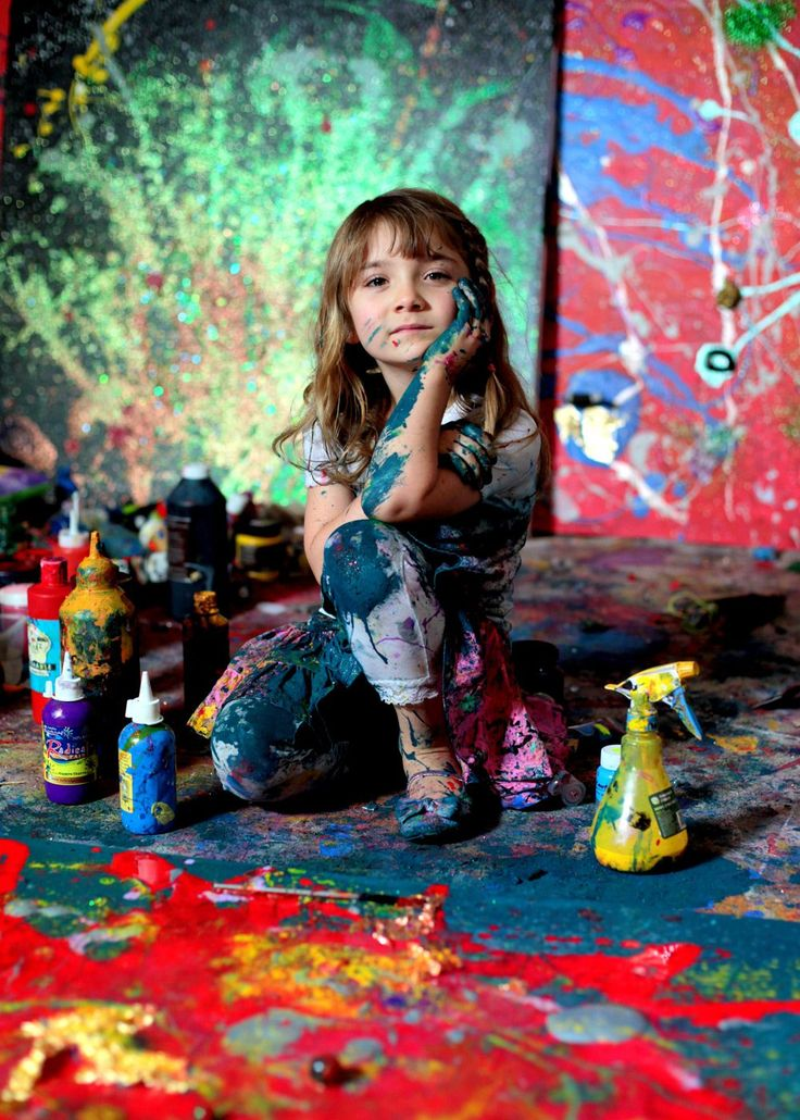 Aelita Andre: The 7-Year-Old Prodigy Stunning The Art World 5