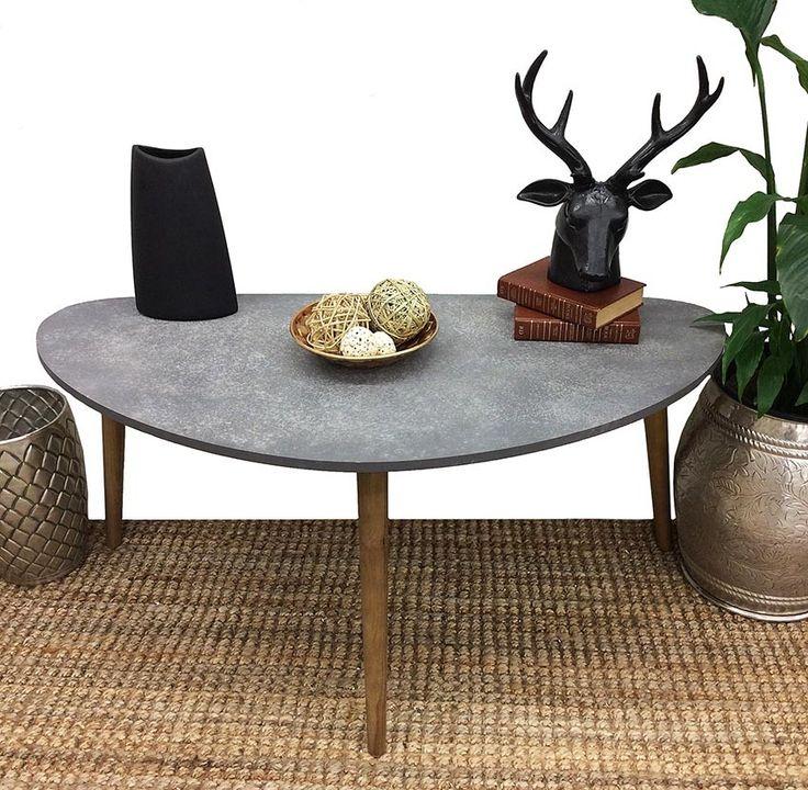 SCANDO CONCRETE OVAL TABLE