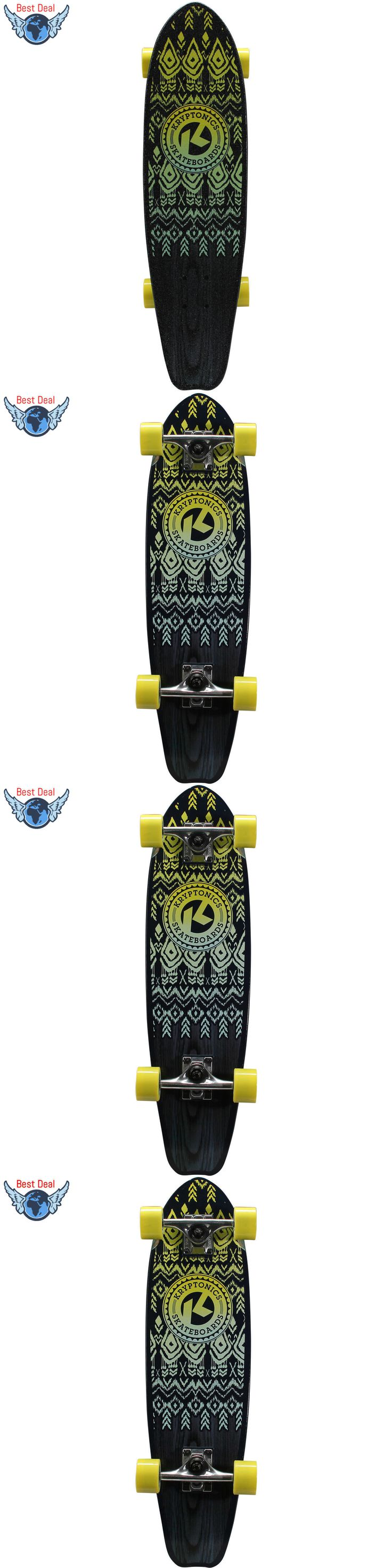 Skateboards-Complete 16264: Kryptonics 28 Complete Cruiser Skateboard, 28 X 7.5 Top Quality -> BUY IT NOW ONLY: $39.99 on eBay!