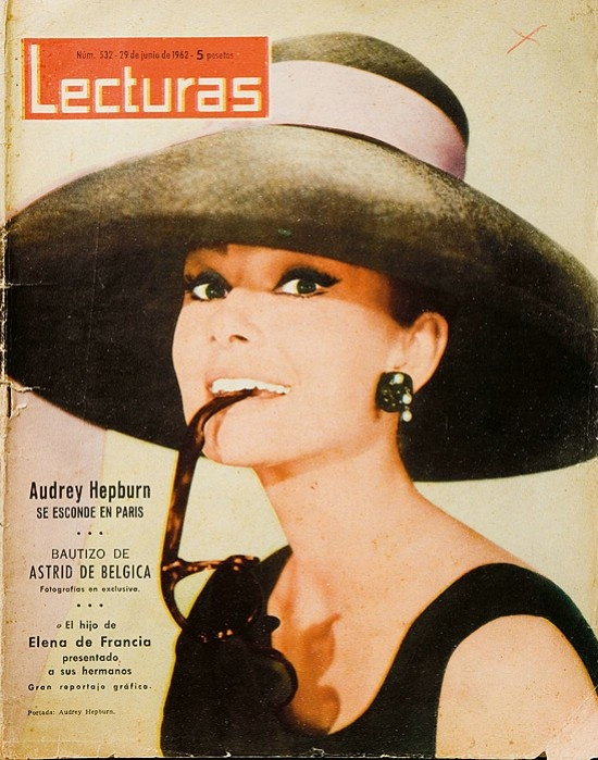 Fotos - Desayuno con diamantes: Magazine Covers, Audrey Hepburn Magazines Books, Hepburn Style, Hepburn Cover, Beautiful Things, Things Audrey, Lecturas Magazine