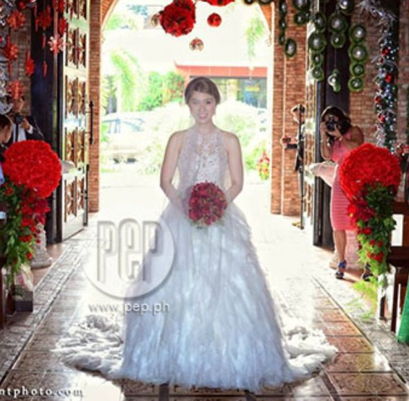 Iya Wedding Gown: 28 Best Pinay Brides Images On Pinterest