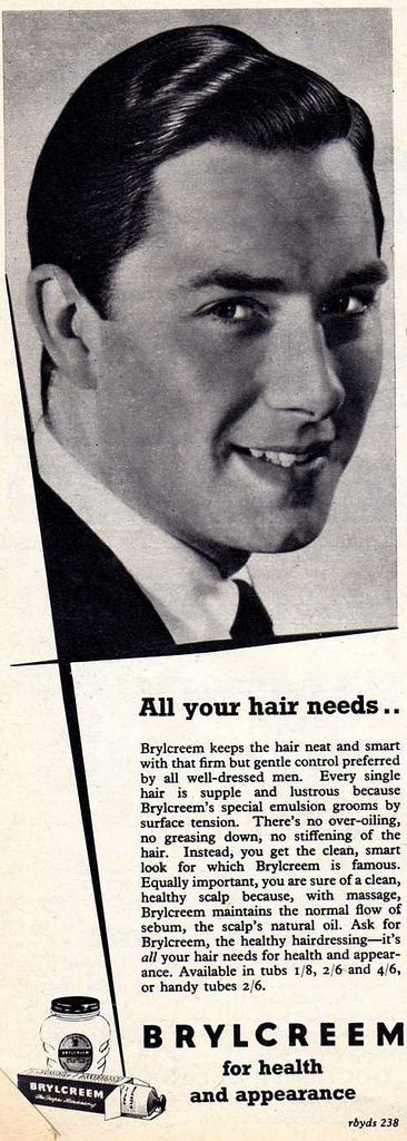 Image result for brylcreem adverts