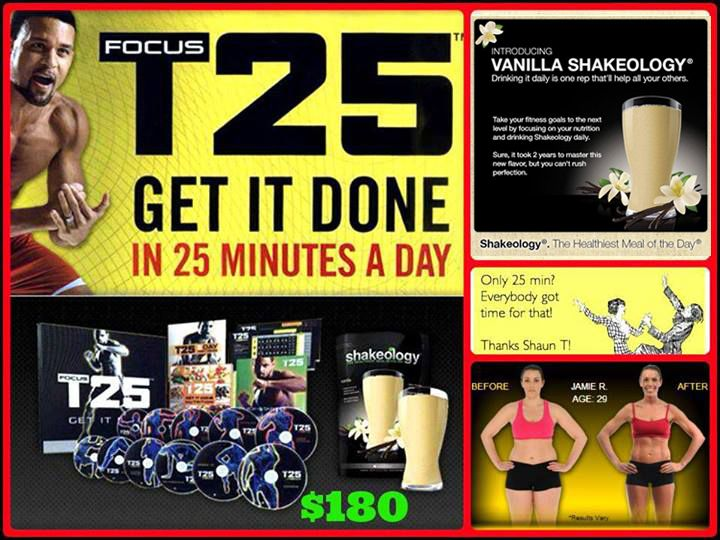 Doing the T25 challenge! Starting Aug 19