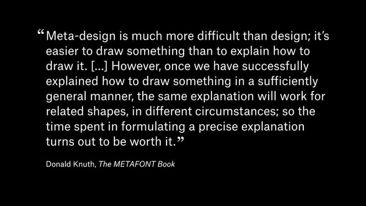 Donald Knuth. Metafont