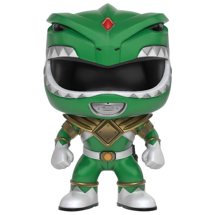 Statuetta decorativa Green Ranger del brand Funko collezione Pop!.