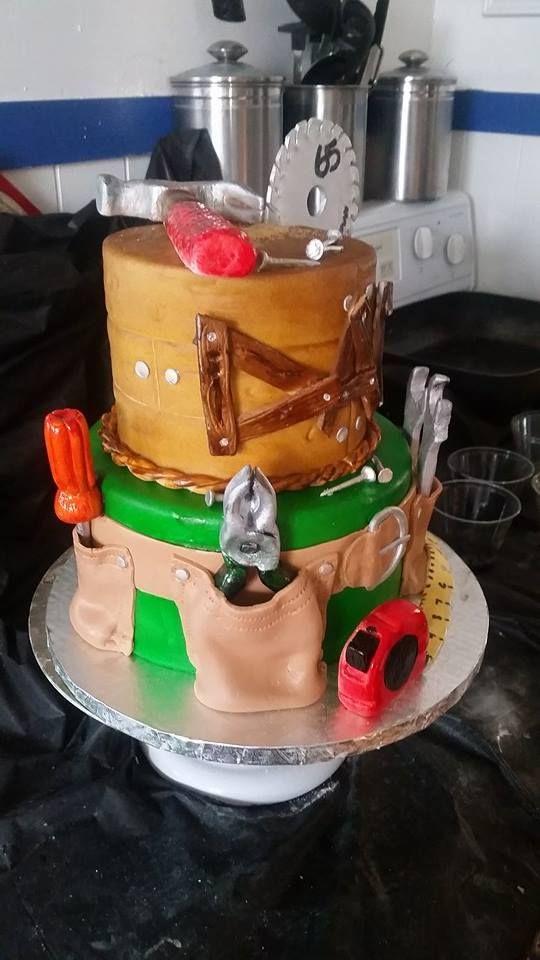 HVAC Birthday Cake. Tool Belt. Table Saw.