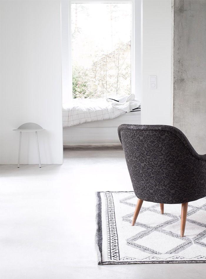 Subtle patterns & Moroccan rug