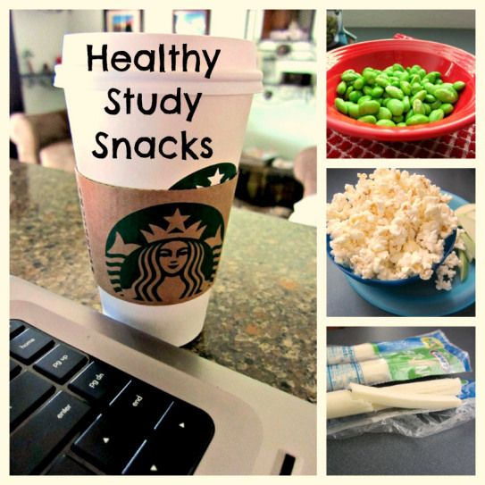 Healthy Study Snack List for college
