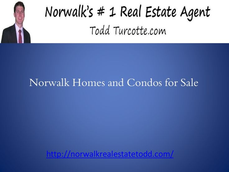 Norwalk homes and condos for sale  by Raquel Jo via slideshare