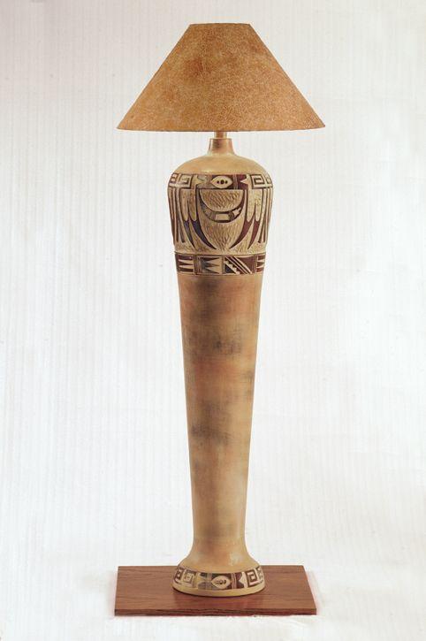 Egyptian inspired lamp hubby loves it so bonus for me
